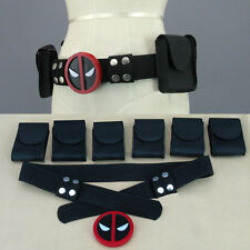 Deadpool X-Men Superhero Unisex Belt Accessories Costume Cosplay Props