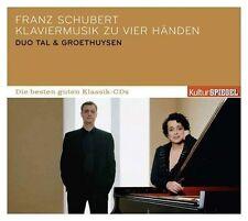 Vallée & Groethuysen-culture miroir: les meilleurs bons-piano musique * CD * NOUVEAU *