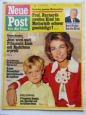 Neue Post 1/1973 Romy Schneider, Gert Fröbe, Heidi Brühl, Renate Holm, Verhoeven