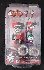 Batman-Harley Quinn Gift Set-Body Knocker, Ear Buds, Scalers,Hub Snaps