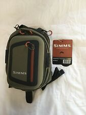 "SIMMS HEADWATERS CHEST PACK in Dark Elkhorn ""OVER 50 % OFF RETAIL"""