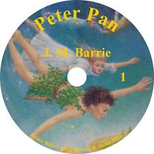 Peter Pan by J. M. Barrie Classic Childrens Adventure Audiobook on 1 MP3 CD