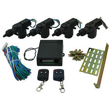4 Door Remote Control Car Central Lock Locking Security System Keyless Entry Kit