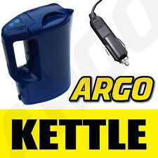 12V ELECTRIC KETTLE WATER CAR TRAVEL CAMPING PORTABLE JUG 1 LITRE CAPACITY