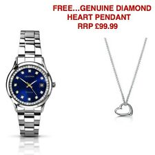 Sekonda Ladies Stainless Steel Blue Dial 2147 Watch