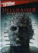 NEW HORROR DVD //  HELLRAISER REVELATIONS // Stephan Smith Collins, Steven Brand