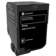 Lexmark 84C1HK0 Cx725 High Yield Black Return Program Toner Cartridge [25 000