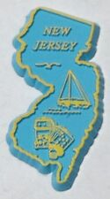 NEW JERSEY STATE MAGNET REFRIGERATOR RUBBER NEW