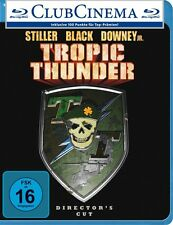 Tropic Thunder (Director's Cut) [Blu-ray](NEU/OVP) Ben Stiller, Jack Black, Robe