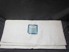 "Vintage NOS PENCO One Flat Sheet Double Bed. 99"" X 81"". White"