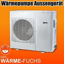 Luft-Wasser Wärmepumpe / Air-Water Heatpump (9kW, Inverter!)