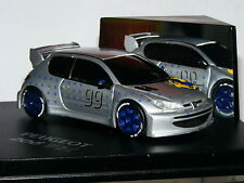 Skid SKM99001 Peugeot 206 WRC 1998 Presentation Car LTD ED 1/43