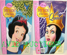 Disney My Side of the Story Snow White/The Queen BRAND NEW HARDCOVER BOOK