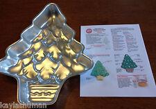 Wilton Cake Pan Treeliteful Christmas Tree + Instructions