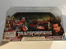 TransFormers Revenge Of The Fallen Rotf Human Alliance Mudflap & Agent Simmons