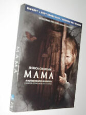 MAMA : Blu-ray + DVD + SLIPCOVER - Jessica Chastain HORROR new usa/can