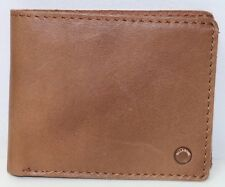 Billabong Barlow Brown Leather Wallet. RRP $49.99. NWOT.