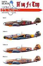 EagleCals Decals 1/32 MESSERSCHMITT Bf-109F-4 TROP Fighter Part 2