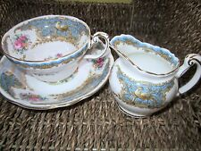 FOLEY MONTROSE  CUP AND SAUCER AND CREAM JUG  Relisted And Reduced