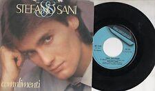 STEFANO SANI raro 45 COMPLIMENTI Italy ZUCCHERO FORNACIARI  Sanremo 1983