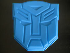 NEW TRANSFORMERS AUTOBOTS SILICONE BIRTHDAY CAKE PAN MOLD PARTY SUPPLY TRAY