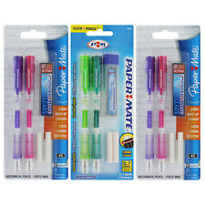 Papermate Clearpoint Mechanical Pencil Set, 0.7mm Assorted Barrels, 6/Pack 56047