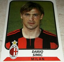 FIGURINA CALCIATORI PANINI 2003-04 MILAN SIMIC ALBUM 2004