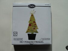 SIZZIX BIGZ DIE TREE CHRISTMAS LAYERED BNIP *LOOK*