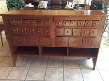 BOB TIMBERLAKE CHERRY HINGED TOP CABINET SERVER MADE IN USA BY LEXINGTON 833-867
