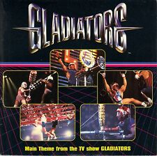 Gladiators - Main Theme Song From TV Show - UK Import 7 Inch Vinyl Record NEW