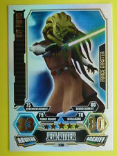 Force Attax Clone Wars 3 (2012, rot), Kit Fisto (230), Force Master