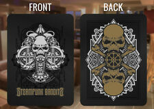 Steampunk Bandits Custom Stainless Steel Playing Card