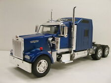 NewRay 1:32 scale Kenworth W900 diecast model trailer truck Cab Blue N201