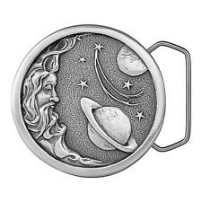 Man in the Moon in Space Belt Buckle 08-Z99 IMC-Retail