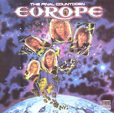 Europe - The Final Countdown (Original CD, Dec-1986, Epic EK 40241)