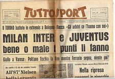 rivista TUTTOSPORT - 04/01/1965 N. 3 MILAN INTER E JUVENTUS