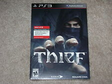 THIEF LIMITED EDITION STEEL BOOK...PS3...***SEALED***BRAND NEW***!!!!!