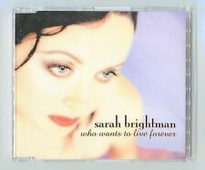 Sarah Brightman - Who Wants To Live Forever - Scarce 1997 Cd Single - Beauty!