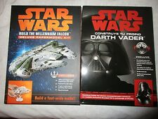 Star Wars Deluxe Paper Model Kit Millennium Falcon & Darth Vader -not in English