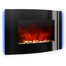 Electric Fireplace Heater By Klarstein 2000W LED Flame Effect Remote Control