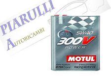 Olio Motore Auto Motul 300V Power 5W40 100% Sintetico ESTER Core - 2 litri lt