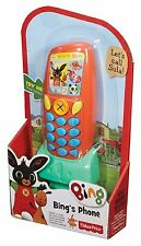 Fisher-Price Bing. Bing's Talking telefono con frasi e suoni