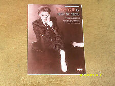 Kim Boyce sheet music Thank You for Being My Friend 1992 5 pages (NM shape)