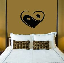Wall Stickers Vinyl Decal Love Heart For Family Bedrooms ig1585