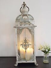 ANTIQUE STYLE  METAL LANTERN CANDLE HOLDER HOME WEDDING TABLE 73cm