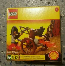 *NEW* LEGO Castle Fright Knights Fire-Cart Set 2538 Shell promo #4 -Kingdoms HTF