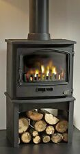 Tiger Classic Multifuel Woodburning  Stove Complete With Log Store
