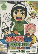 DVD Naruto SD : Rock Lee no Seishun Full-Power Ninden Vol. 1 - 51 End + Free Gif