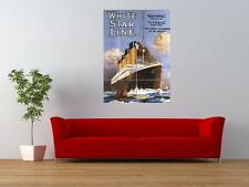 OCEAN LINER OLYMPIC TITANIC STEAMER GIANT ART PRINT PANEL POSTER NOR0371