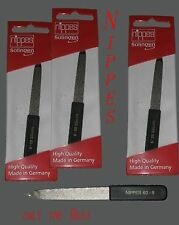 3 Solingen Germany Sapphire Nail File-black Pointed 11 Cm salon supply 60-11